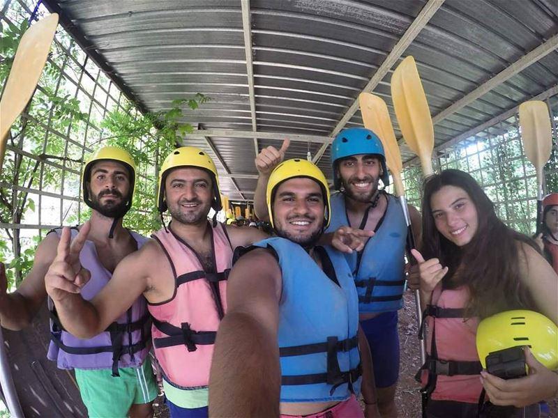 Crazy people summercamp lebanon groupez ... (Litani River)