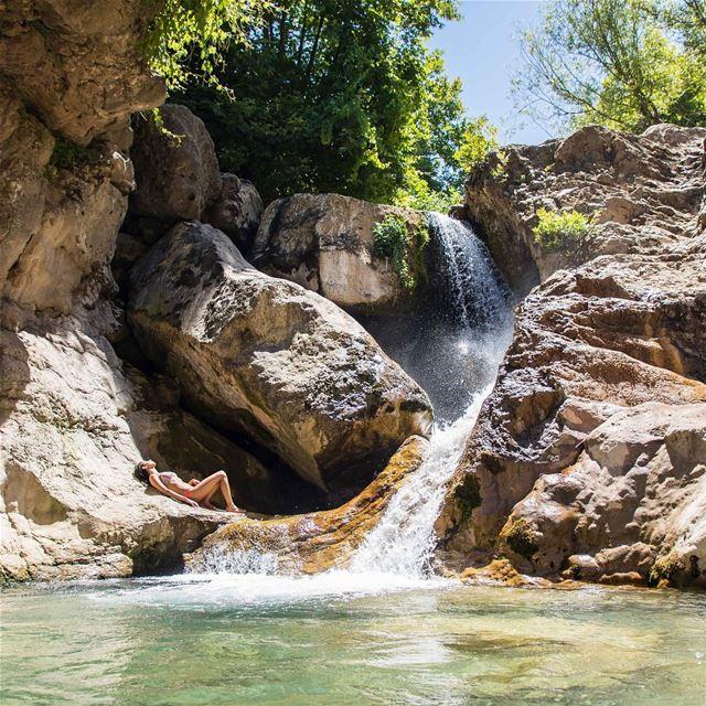 M A K E N O W A W E S O M E ☀️💦🌿 - 📸 @haigmelikian ♥️ ... (Akoura, Mont-Liban, Lebanon)