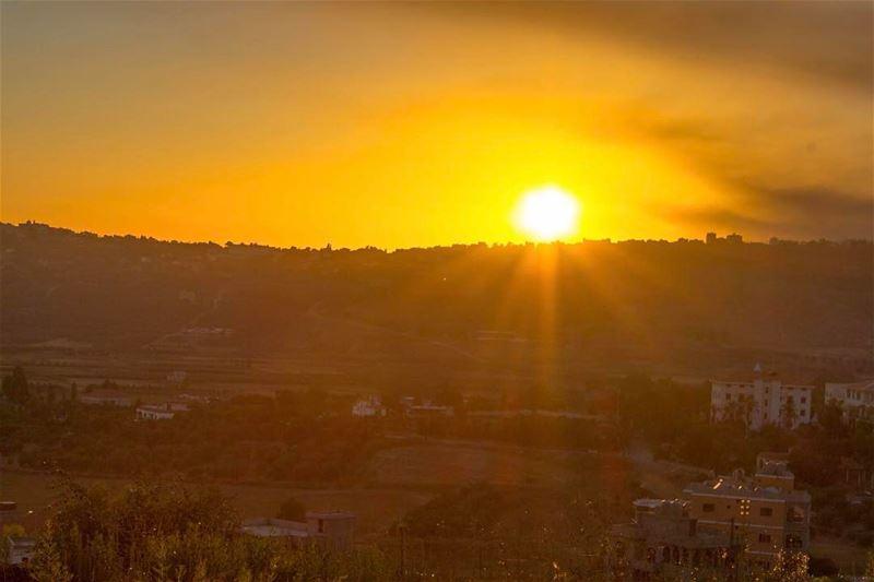 southern lebanon alkhiam lebanon_hdr landscape nature sunset... (Al Khiyam, Al Janub, Lebanon)