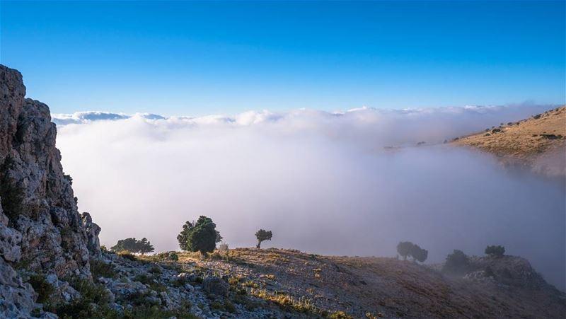Summer's low hanging clouds lebanon ... (As Sawaqi, Liban-Nord, Lebanon)