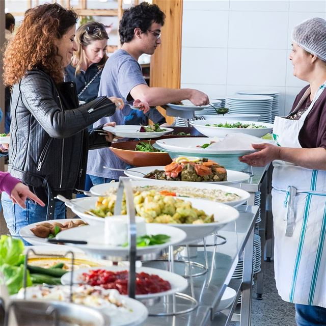 Weekend buffets at Tawlet Ammiq are guaranteed to make a whole week of...