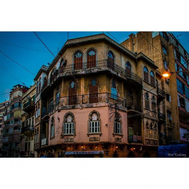 old  buildings  beirut  lebanon  architecture  neighbourhood ... (Basta Tahta)