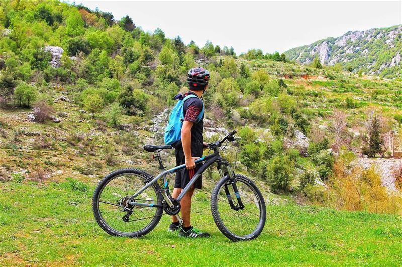 Remember to always explore ! escapetonature livelovelebanon biking ... (Nahr L Dehab)
