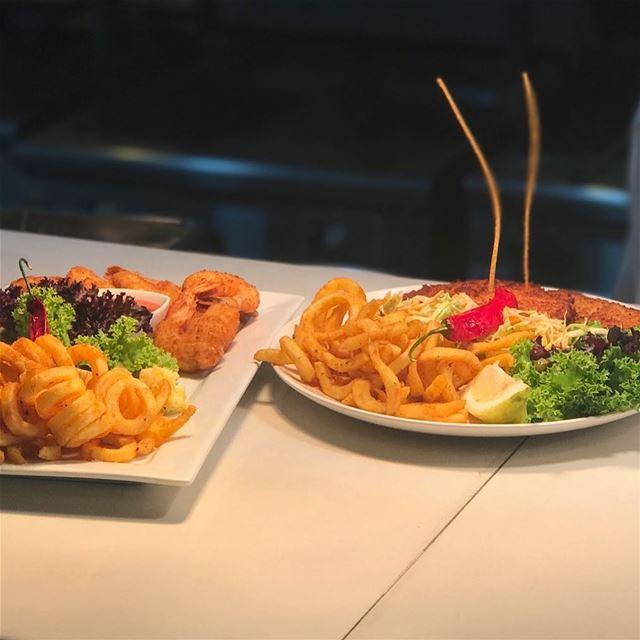 🍤🌶🦐🍋🇱🇧✔️ plates restaurant19 curlyfries shrimps new lebanon ...