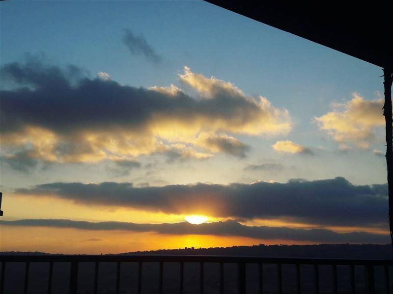 ❤❤😍 sunset sunsets sunsetporn south sud lebanon liban weather ... (Al Khiyam, Al Janub, Lebanon)