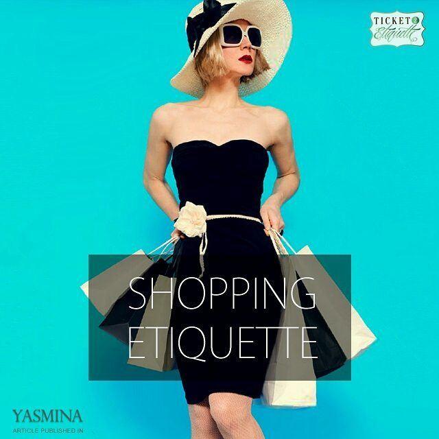 Vera on good shopping etiquette with @gracytta in @yasminadotcomخبيرة ال (Beirut, Lebanon)
