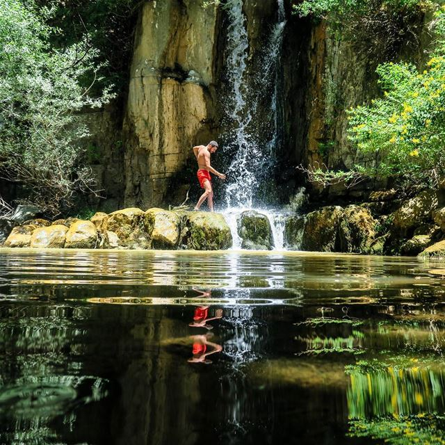 One beautiful spot we discovered by coincidence. How about a dip? hike ...