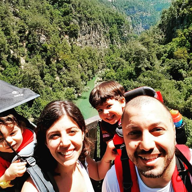 family chouen love hiking adventure gopro goprolebanon yallagopro... (نهر شوان)