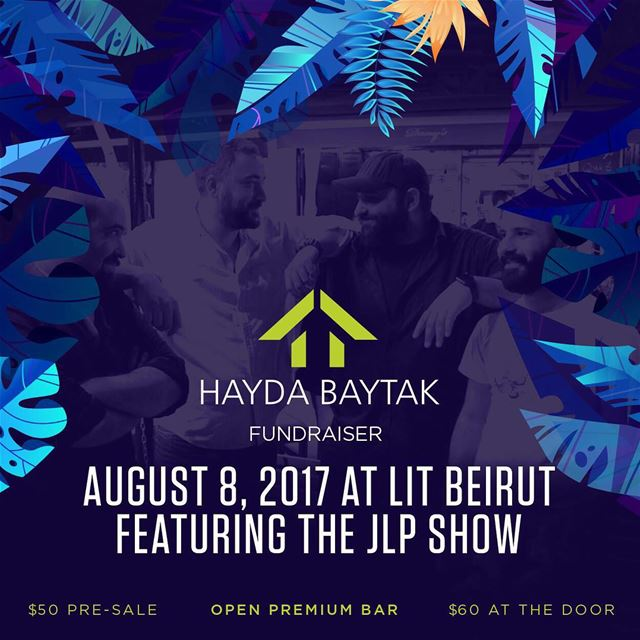 Party for a cause with @HaydaBaytak this Tuesday at Lit Beirut. Check... (LIT Beirut)