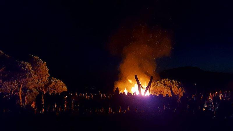 Le bon Dieu créa le feu 🔥Vive le bon Dieu😍