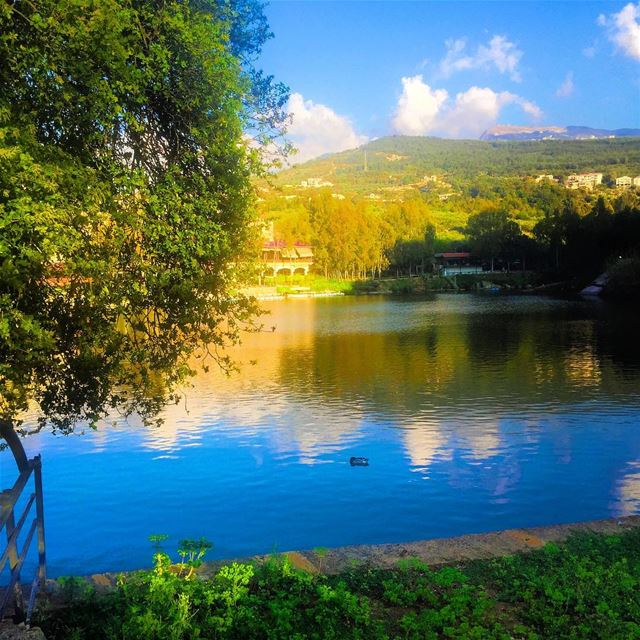 Beautiful morning from Zgharta ❤️🇱🇧 bnachii whatsuplebanon ... (Zgharta Lac De Bnachii)