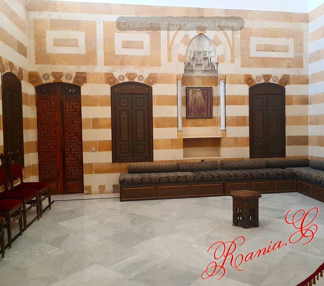 beiteddine lebanon beiruting reception arabicreception arabicsalon ... (Beiteddine Palace)