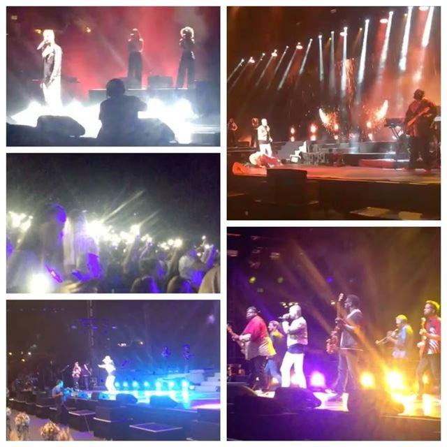 My way tour💥💃 beautiful concert mpokora mywaytour tribute... (Byblos, Lebanon)