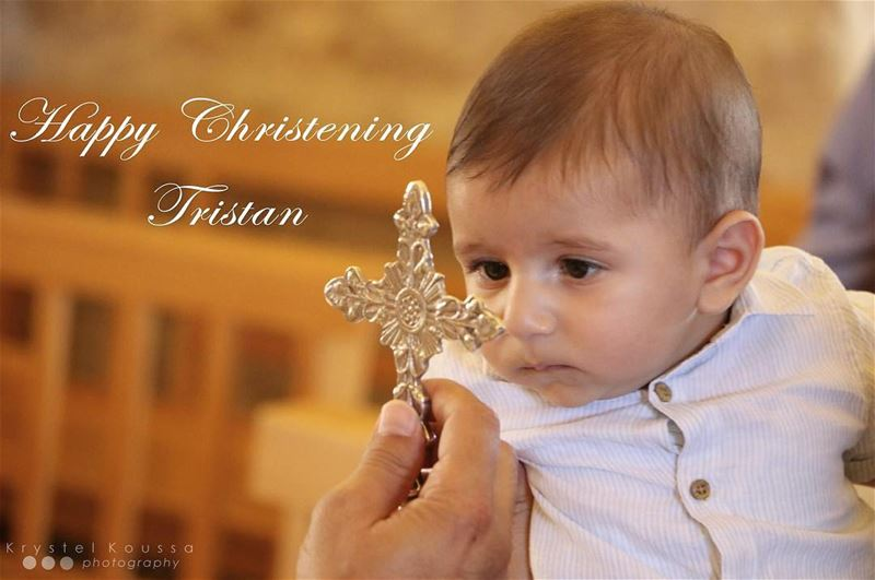 Tristan C. Metni, Child of God👼🏻 Baptized on 29.07.2017🙏🏻 baptism ... (Bejdarfel, Liban-Nord, Lebanon)