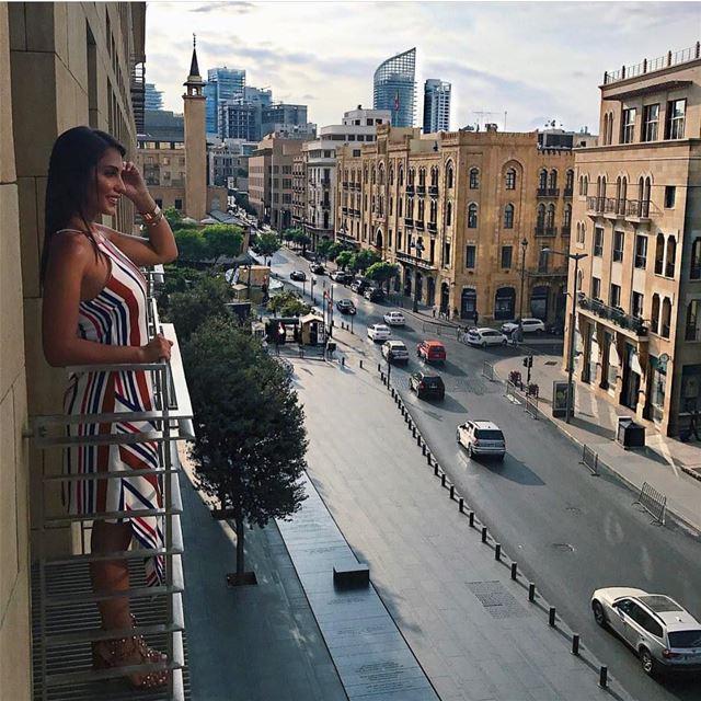 I love this city ❤️...📸: @andrianachidiac ... letstalkaboutlebanon... (Le Gray, Beirut)