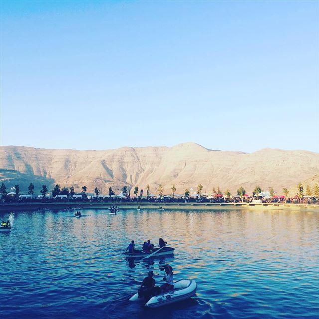 Lakeside @zaarourclub summer vacation lebanon destination travel ... (Zaarour Club)