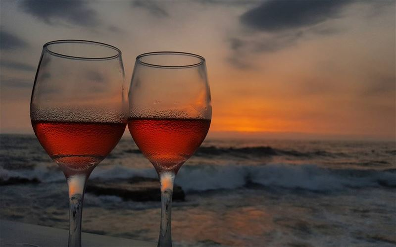 Wine brings to light the hidden secrets of the... (Byblos, Lebanon)