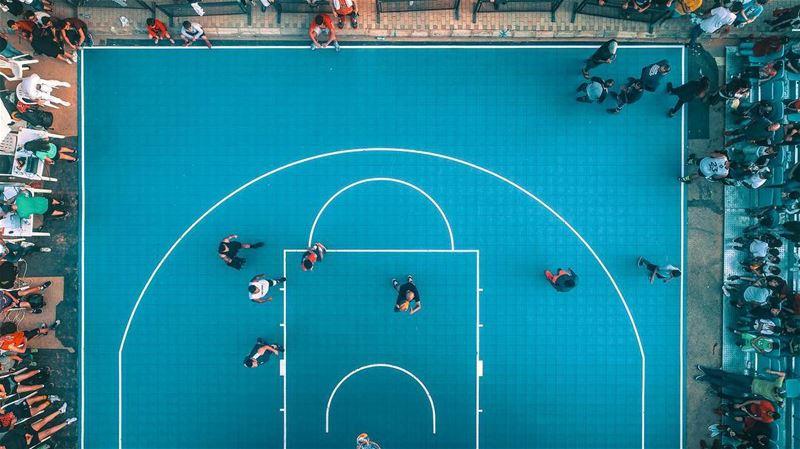 Lets play some Lebanese Streetball 🏀 Location: Souk El Akel; Faraya... (Souk el Akel)