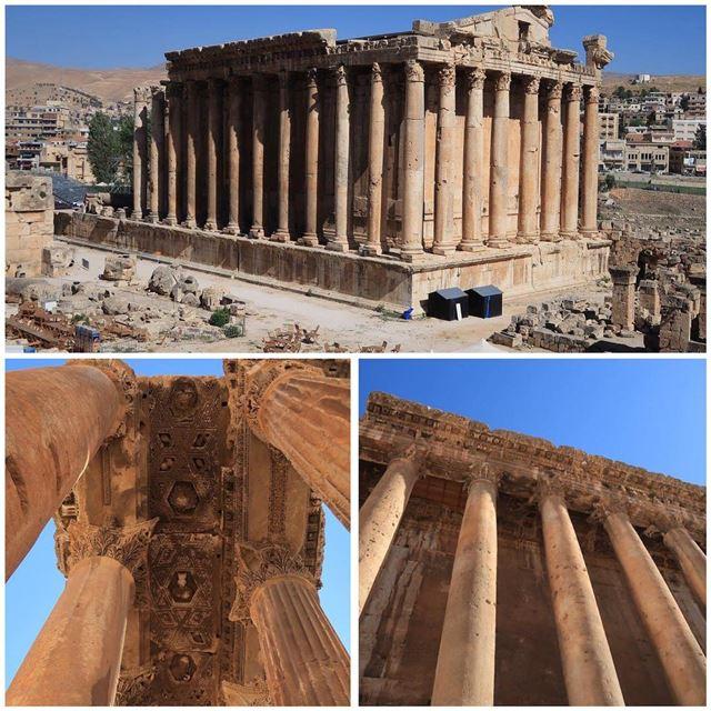 baalbek baalbeck baalbak ruin temple history historicalsite historicalpix... (Baalbek, Lebanon)