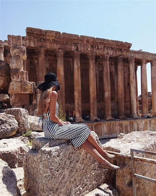 baalbek livelovelebanon lebanon ruins ancientrome ...