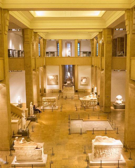 O Museu Nacional de Beirute é o maior do Líbano e possui uma estrutura... (National Museum of Beirut)