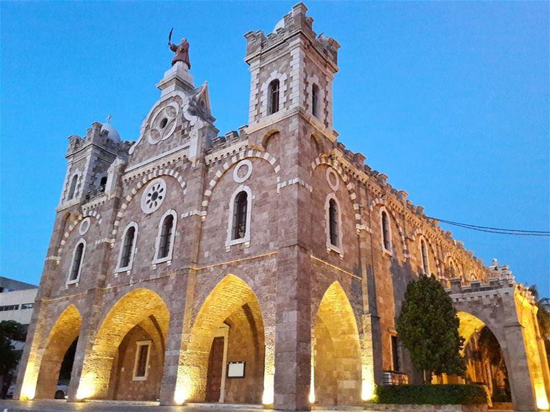 كنيسة ما إسطفان - البترون ، لبنان.... (Saint Estephan Church)