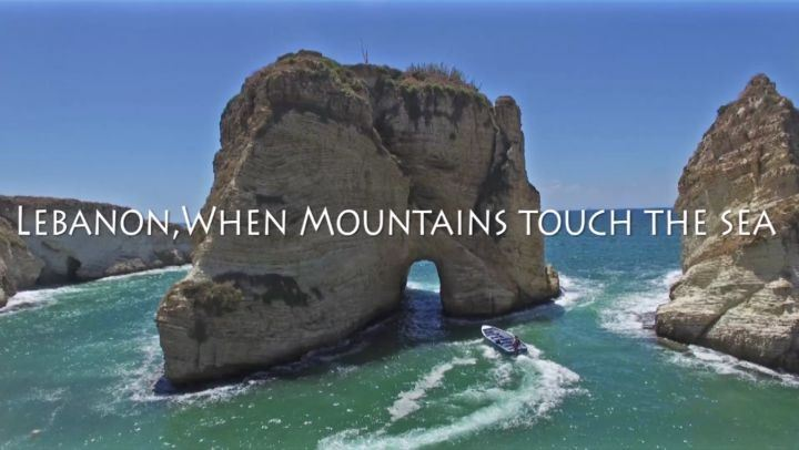 Lebanon, When mountains touch the sea!Skypixel 2017 video contest full...