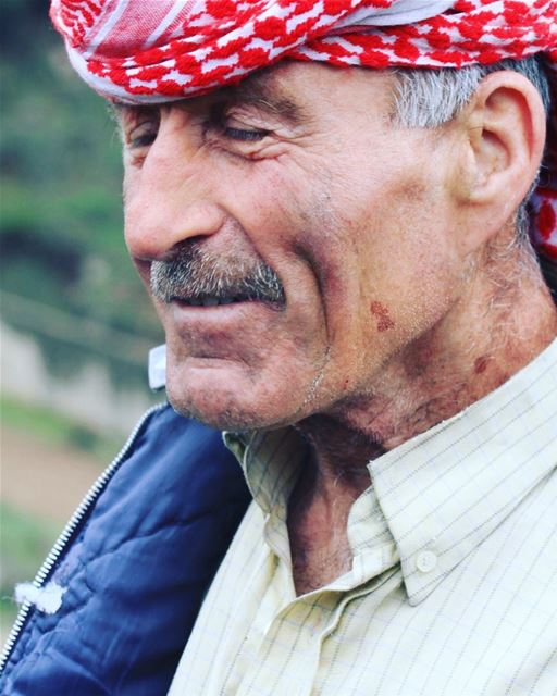 Who's your inspiration? Moussa, the goat herder, had plenty of stories and... (`Akkar, Liban-Nord, Lebanon)