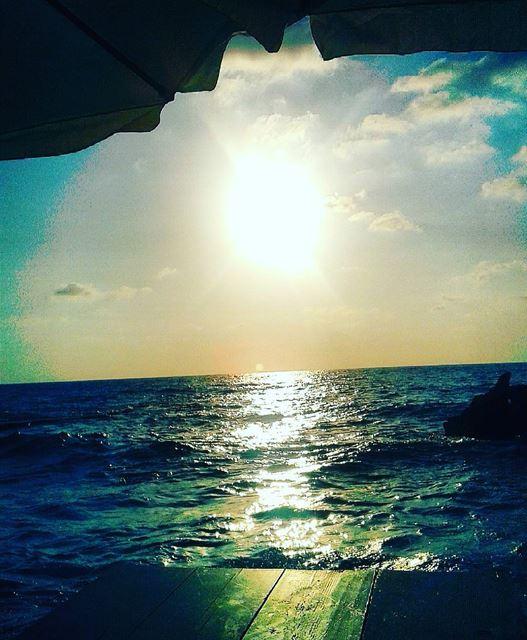 Breathing .... sunset batroun wearelebanon nature ocean paradise ...