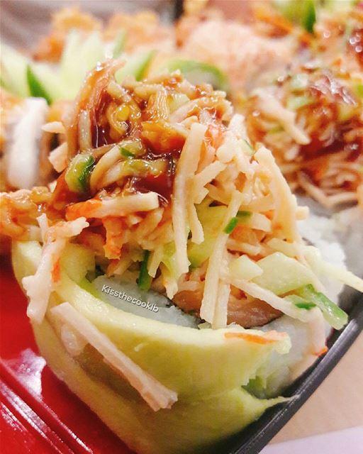Sushi 🍣 kissthecooklb sushi sushilover batroun lunch lebanon ... (Sushi Star - Batroun)