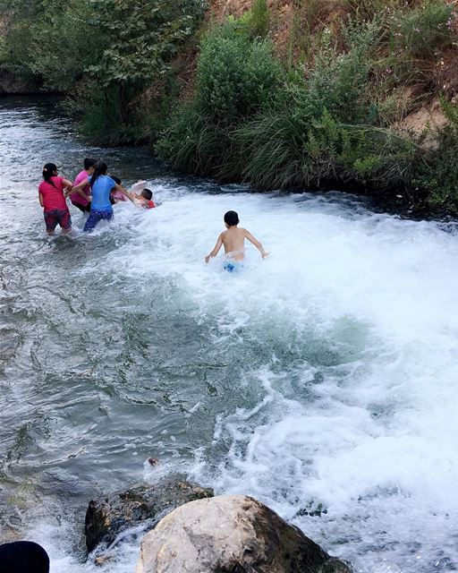 sumer fun lebanon river ... (استراحة ابو جاد)