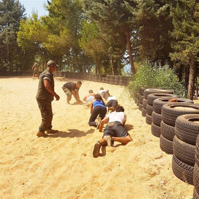 Hiba Li Mawhiba's Military Fun & Fitness day 💪with maghawir Roumieh ...