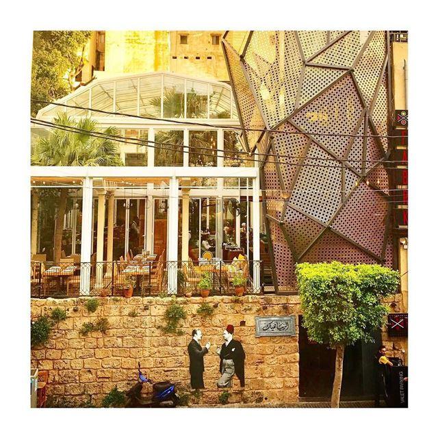 الدنيا هيك lebanese restaurant lebanesebucketlisters beirut lebanon ... (El Denye Hek الدنيا هيك)