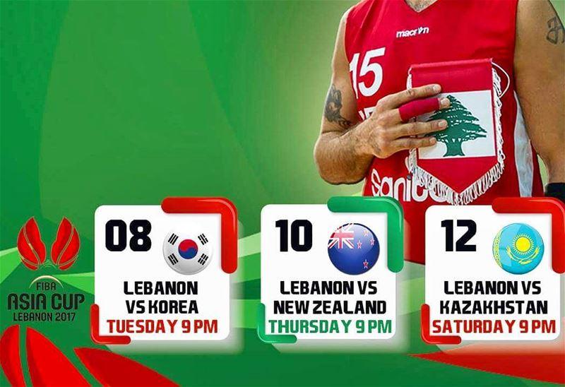 Make us proud.. gooo lebanon proudlylebanse lebanon 🇱🇧 basketball ... (Lebanon)