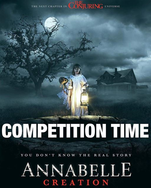 Win exclusive movie tickets to the long awaited horror movie ANNABELLE... (Grand Cinemas Lebanon)