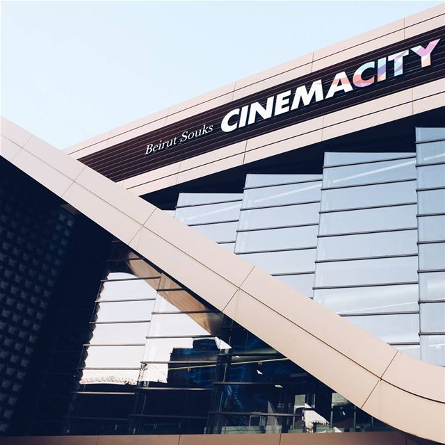 Beirut Cinema City @cinemacitysouks valodeetpistre ledfacade led ... (Beirut Souks Cinemacity)