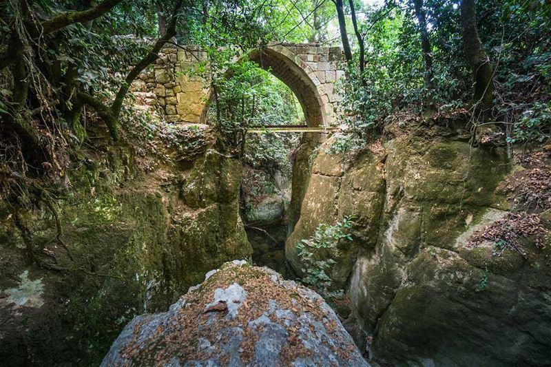 When nature and man collaborate lebanon ... (Aïn Qanîyé, Mont-Liban, Lebanon)