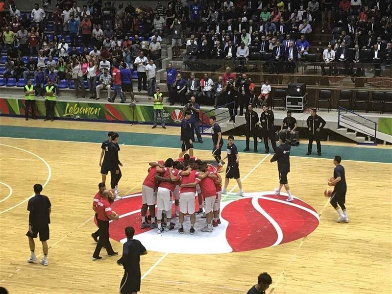 نتمنى التوفيق لمنتخبنا الوطني Lebanon Basketball Asia fiba fibaasia ...