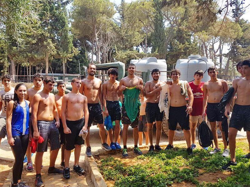 3ind l maghawir heyk binsir 💦💦💦Hiba Li Mawhiba's military fun and... (Roumieh)