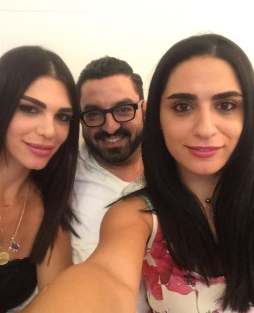My besties 😍❤️ bestfriends sincechildhood sister brother selfie... (El Saifi, Beyrouth, Lebanon)