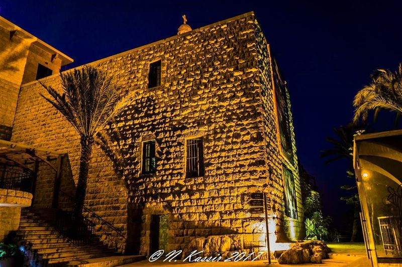 church nightlifephotography stones mountain ngconassignment Lebanon ... (Hardini - Kfifan)