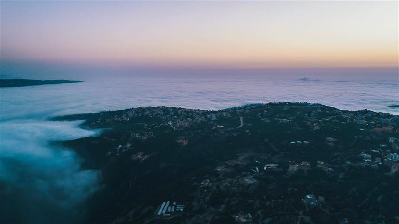 Live and above the beautiful cloudy Beirut City Drone: DJI Phantom 4 Pro+... (Rayfoun)