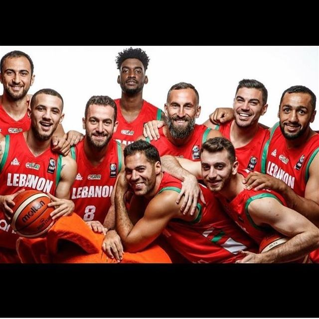 All the luck Lebanon 🇱🇧❤️ yallalebnen fibaasia lebanon basketball ...