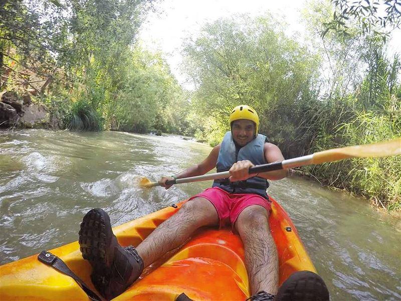 Kayaking lebanon ... (Litani River)