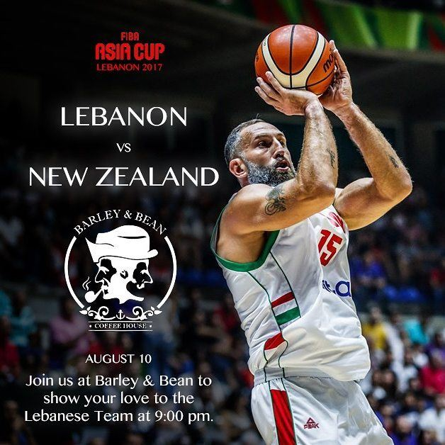 Come join us tomorrow and support your national team.LEBANON VS NEW... (Barley And Bean)