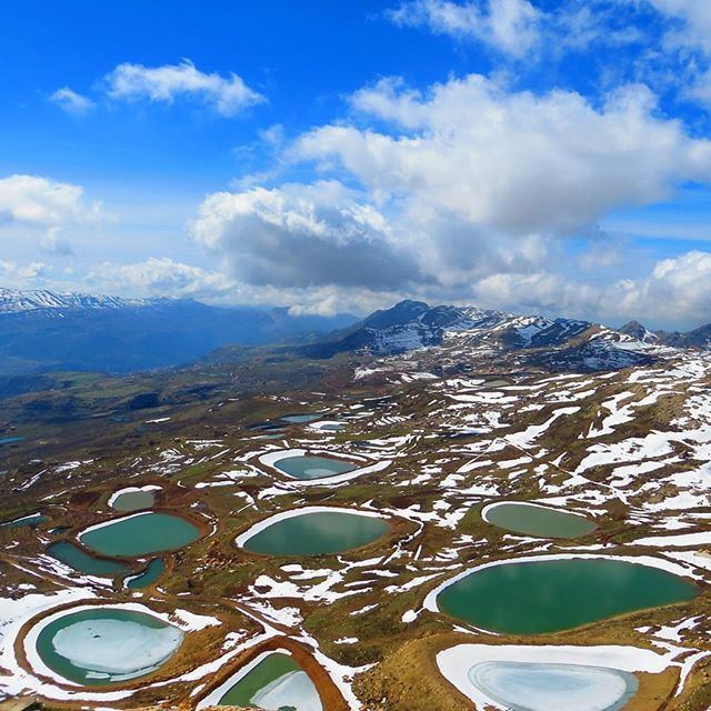 Ponds of life. @liveloveakoura by @michel__doumit (Akoura, Mont-Liban, Lebanon)