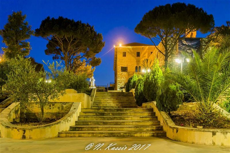 stairs church mountain ngconassignment Lebanon north ig_great_shots... (Hardini - Kfifan)