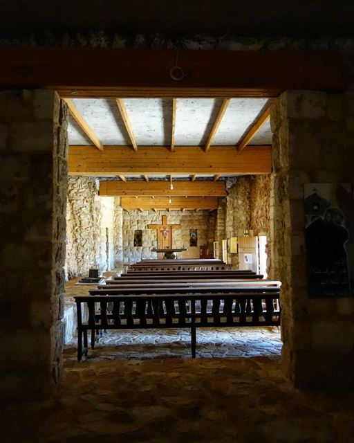 ⛪🙏 ...an old cellar (with a length of around thirty meters and a width of... (Dayr Al Qamar, Mont-Liban, Lebanon)