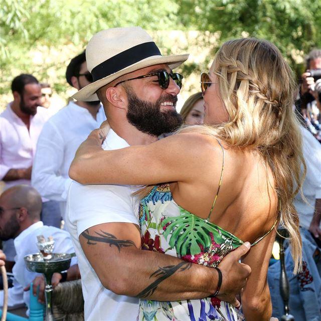 Jowasieee 🌸🌲🍄 nazos wedding anjar lebanon sundaybrunch love ❤️ (`Anjar, Béqaa, Lebanon)