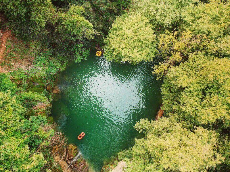Drone Snapshot of Baakline River 💚 lebanon lebanon_hdr lebanonshots ... (Baakline, Mont-Liban, Lebanon)